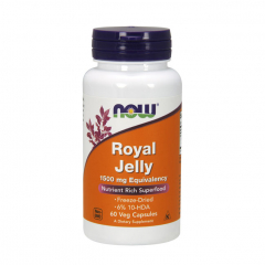 Royal Jelly 1500 mg Kapseln von NOW. Jetzt bestellen!