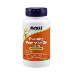 NOW Evening Primrose Oil 500 mg 100 Softgels